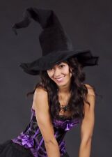 Deluxe Halloween Large Twisty Witch Hat