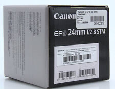 Canon EF-S 24mm f/2.8 STM pancakeLens NEW w/box USA warranty auth dealer 380213