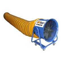 600mm x 10m Flex Duct Orange