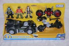 Fisher Price - Imaginext - DC SUPER FRIENDS GIFTSET Batmobile Batman - New