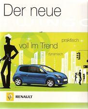 Prospekt / Brochure Renault Twingo 08/2007