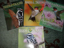 4 Birds & Blooms Magazines:Warbler,Ruby Throat Hummingbird,Hummingbirds,Woodpeck
