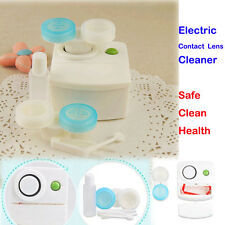 Home Travel Pro Health Care Electric Contact Lens Auto Cleaner Cleaning Washer