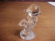 "3"" PRECIOUS MOMENTS 24% CRYSTAL SKATER SAMUEL BUTCHER FIGURINE #637440 - GERMANY"