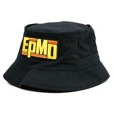 Authentic EPMD Logo Hip-Hop Bucket Hat Black NEW