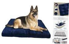Shu Ufanro Dog Bed Crate Pad Washable Anti-Slip Kennel Mat for Large Medium