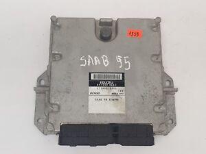 SAAB 9-5 2002 3.0 TID ENGINE CONTROL MODULE UNIT ECU DENSO 2758000993 8972408663