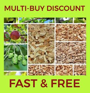 1l -10l Alder,,Apple,Beech,Oak,Cherry,Pear,Plum BBQ Wood Chips For Food Smoking