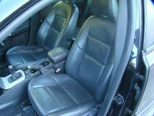 VOLVO S40 FRONT & REAR SEATS & 4 DOOR TRIMS  LEATHER, BLACK, 03/04-08/07