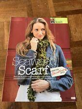 Ladies Seaweed Scarf Knitting Pattern