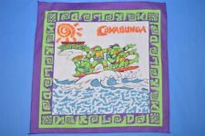 vintage 90s Teenage Mutant Ninja Turtles Tmnt Cowabunga Handkerchief Bandana