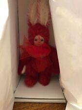 "New Marie Osmond ""Bit O' Bunny"" series"" Cranbunny"" Porcelain Doll with Coa"