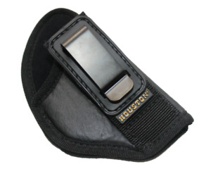 Tuckable IWB Soft Leather Gun Holster Houston - You'll Forget You're Wearing It!