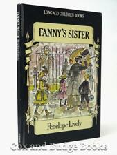 PENELOPE LIVELY signed Fanny's Sister 1976 1st/1st HB illus JOHN LAWRENCE