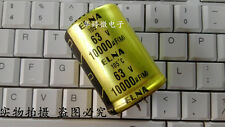2PCS Japan ELNA 10000uF 63V Top audio filter capacitor 105°C 35X50 #G140A XH
