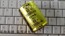 Japan ELNA 10000uF 63V Top audio filter capacitor 105°C 35X50 #G1400 XH