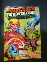 DC Comics Justice League # 50  w/ Lord of Time 1966 Vintage Old Comic