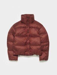 Acne Studios Orlin Lightweight Down Puffer Jacket Size 34 $850 NWT