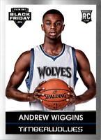 2014 Panini Black Friday Rookie Portraits #10 Andrew Wiggins BK - NM-MT