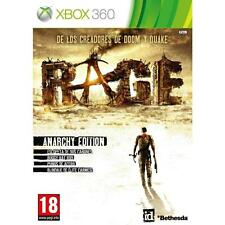 Pal version Microsoft Xbox 360 Rage (3 Discs)