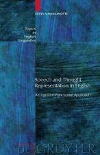 Topics in English Linguistics [TiEL]: Speech and Thought Representation in...