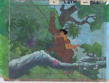 Tarzan Lord of the Jungle Original Animation Cel & KEY MASTER Bkgd #A16645