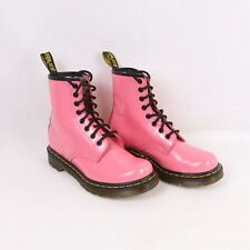 Dr Martens Acid Pink Patent Leather Boots 1460W Women's Size 6M Doc Martens