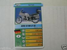 16 MOTORRAD 2D BMW K1100 LT SE 1100 KWARTET KAART, QUARTETT