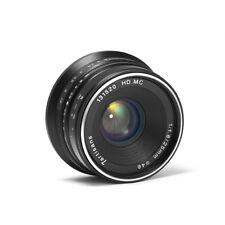 7artisans 25mm/f1.8 Fixed Manual Lens for Fuji Cameras X-A1 X-A10 X-A2 X-A3 X-AT