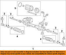 Chevrolet GM OEM 13-15 Volt-Rack And Pinion Complete Unit 13413955