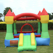 Inflatable Mighty Moonwalk Bouncer Bounce House Castle Jumper Without  Blower