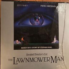 "The Lawnmower Man / Unrated Director's  - 12""  Laserdisc Buy 6 for free shipping"