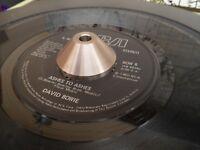 """TITANIUM 45rpm 7"""" RECORD ADAPTOR Professional HiFi Turntable Disc Locator"""