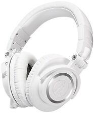 Audio-Technica ATH-M50x Sound-Isolating Monitor Headphones (White)