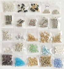25 Bags of Findings, Beads, Connectors, etc. - Lot B207