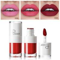 Pudaie Matte Lippenstift dauerhafte wasserdichte Antihaft-Cup Lip Glasur mode DE
