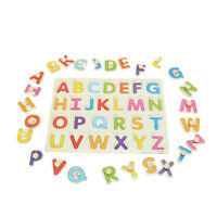 Alphabet ABC Wood Jigsaw Puzzle Toy Kid Learning Educational Baby Christmas Gift