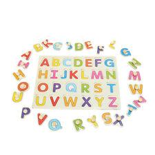 Alphabet ABC Wood Jigsaw Puzzle Toy Kid Learning Educational Baby Christmas Gift