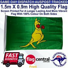 Boxing Kangaroo Flag 1.5m x 0.9m Flag *Quality *Tracked Delivery *Free Delivery