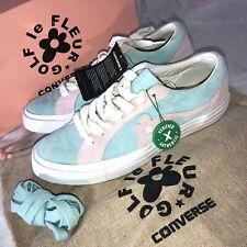 Converse Golf Le Fleur Tyler The Creator Shoes Mens Size 8.5 Plume One Star NIB