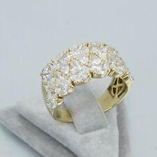 Wert 8250 € Brillant Diamant Ring (2,66 Carat) in 750er 18 Karat Gelbgold Gr. 55