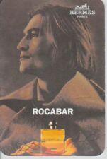 Carte publicitaire liquatouch   - perfume card  - Rocabar d'Hermès