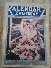 1950 Ilustrowany Kalendarz Zwiazkowy Almanac Rok 1950 (Polish)