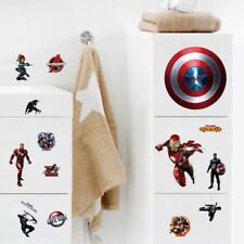 The Avengers Room Wall Decal 3D Reusable Large Stickers CUT OUT Version
