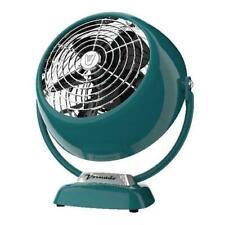 💥 NewRetro Vintage Vornado VFAN Metal Air Circulator Fan, 2-Speed, TEAL