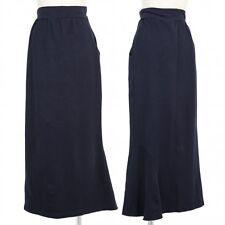 Yohji Yamamoto FEMME Cotton stretch skirt Size 2(K-49588)