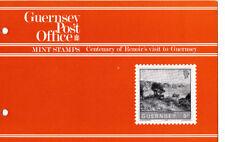 GUERNSEY PRESENTATION PACK MNH 1983 CENTENARY OF RENOIR'S VISIT TO GUERNSEY