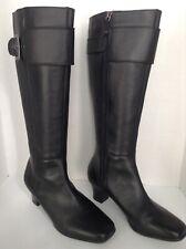 Rockport Woman's Black Boots Sz 7 US Med. ADIPRENE By Adidas EUC