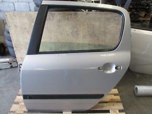 Genuine,2004 PEUGEOT 307 1.6L 2001-2008 4D  LEFT REAR DOOR SHELL Silver EZRC