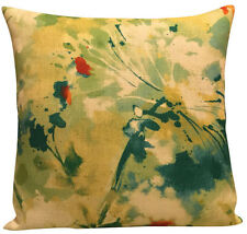 Abstract Linen Blend Decorative Cushions